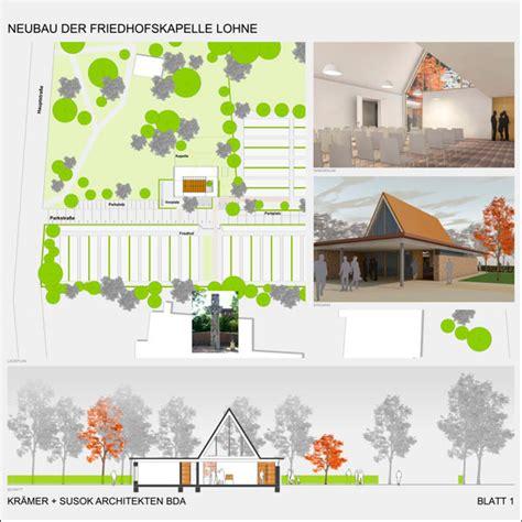 Ks Architektur by Friedhofskapelle Lohne Ks Architektur