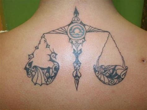 Libra Tattoo Ideas And Libra Tattoo Designs Page 2 Libra Zodiac Tattoos Designs
