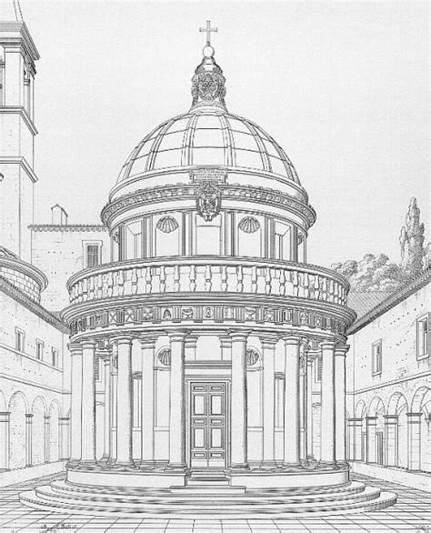 italian architectural drawings 59 best images about donato bramante on the