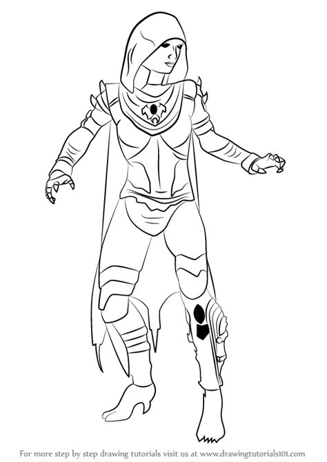 draw d learn how to draw d vorah from mortal kombat mortal