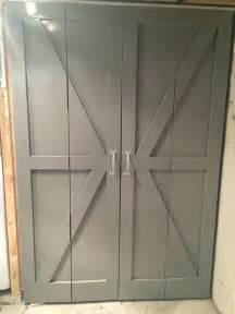 bifold barn door 17 best ideas about folding closet doors on pinterest