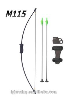 Junxing M115 Archery Kid Bow Black youth bow and arrow set junior archery new compound