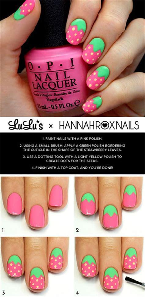 easy nail art tutorial for beginners 12 easy summer nail art tutorials for beginners 2017