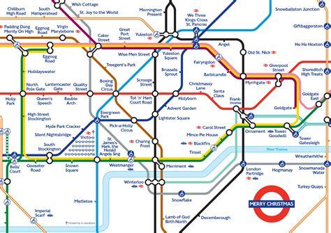 the underground map alternative maps merry londonist