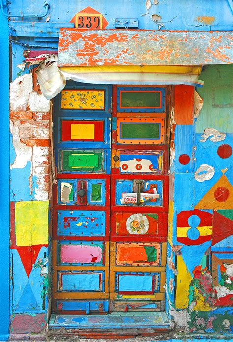colorful doors these are the most colorful imaginative doors i ve seen