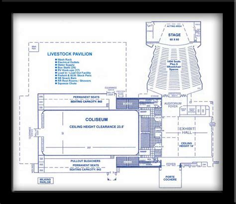civic center floor plan floor plans hopkins county civic center
