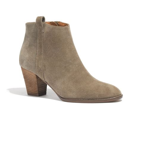rank style madewell the billie boot in suede