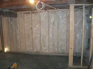 basement wall vapor barrier concrete walls sealed and vapor barrier yelp