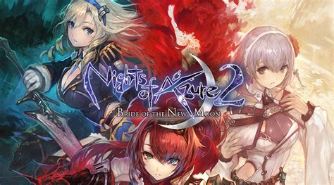 Kaset Nintendo Switch Nights Of Azure 2 Of The New Moon nights of azure 2 coming to nintendo switch in the west in october 2017 handheld players