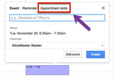 Calendar Appointment Slots 5 Things To Explore In Calendar Tech