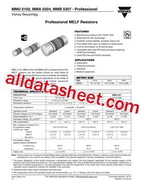 transistor datasheet vishay mmb0207 datasheet pdf vishay siliconix