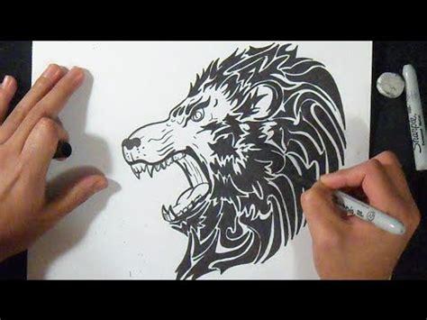 Imagenes De Leones Grafitis | c 243 mo dibujar un le 243 n graffiti youtube