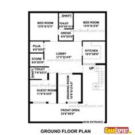 1 gaj in sq feet house plan for 30 feet by 30 feet plot plot size 100