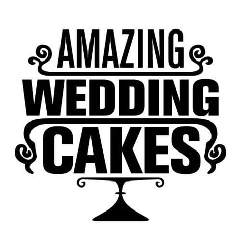 Home Decorators amazing wedding cakes logo warren dent portfolio