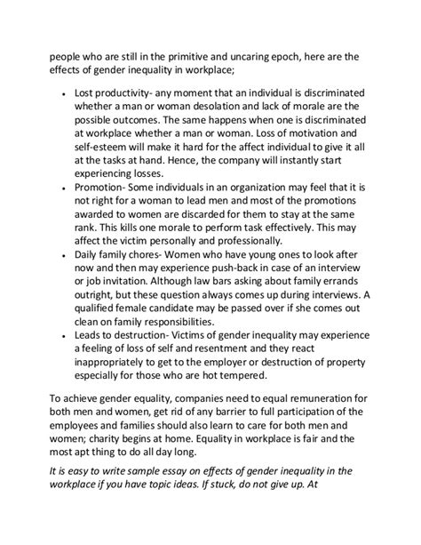 Gender Inequality Essays by Gender Inequality In The Home Essay