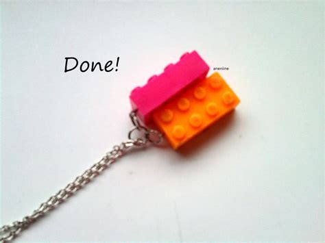how to make lego jewelry lego block necklace 183 how to make a lego necklace
