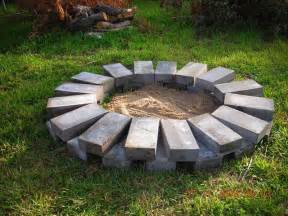 Build Your Own Backyard Fire Pit by Make Your Own Fire Pit 63708 Outdoor Product Design