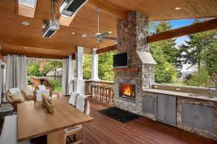 Contemporary Patio Umbrellas Designing The Perfect Outdoor Kitchen