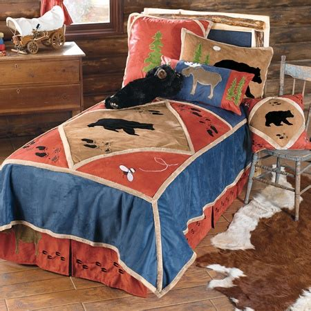 Kid S Lodge Bedding Cabin Bedding And Western Bedding Cabin Bedding Sets Cheap