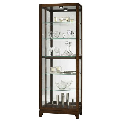 curio cabinet howard miller luke curio display cabinet 680588