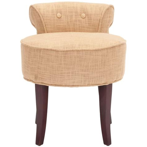 vanity stool with skirt home decorators collection delmar swivel lowback ivory vanity stool with skirt 5544540120 the