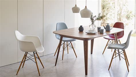 Leather Dining Room Chairs by Vitra Eames Dsw Chair