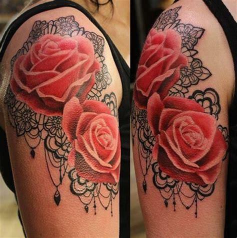 scarlett rose tattoo lace and tattoos o