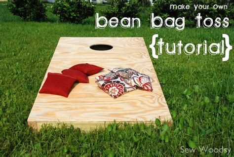 make your own bean bag toss bean bag toss guest blogging on sawdust and paper scraps