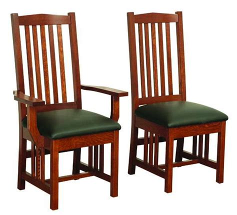 amish mission grandville dining room chair