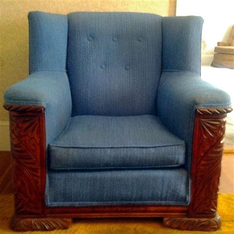 vintage sofa with wood trim id antique sofa chairs with exquist carved wood trim