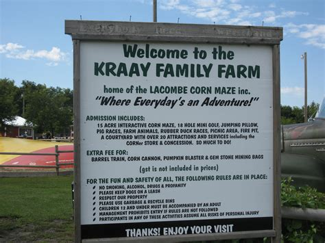 kraay family farm home of the lacombe corn maze lacombe
