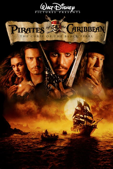 themes in the black pearl ten years ago pirates of the caribbean the curse of the