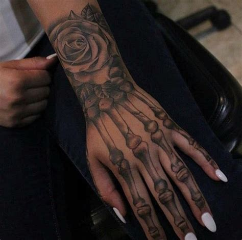 dope hand tattoos 17 best ideas about skeleton on