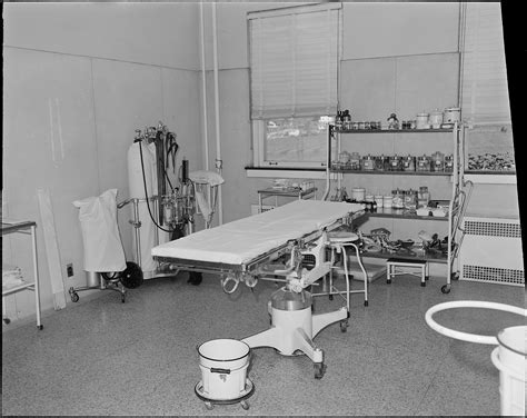county history room file operating room clinch valley clinic hospital richlands tazewell county virginia nara