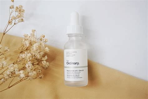 review  ordinary niacinamide  zinc  dessy dyl