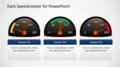 powerpoint speedometer template free speedometer shapes for powerpoint slidemodel