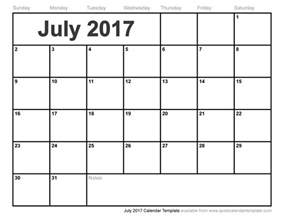 july 2017 calendar excel weekly calendar template