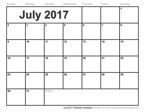 July 2017 Calendar Pdf Weekly Calendar Template Photo Calendar Template 2017