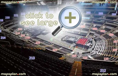 Rogers Arena Floor Plan sap center seat amp row numbers detailed seating chart san
