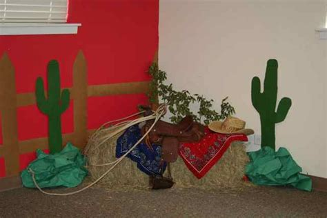 Vacation Bible School Decorating Ideas by Western Themed Vbs Crafts