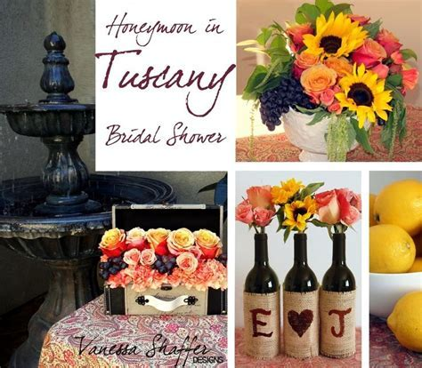 Tuscany Themed Party Ideas   Vanessa Shaffer Designs: A