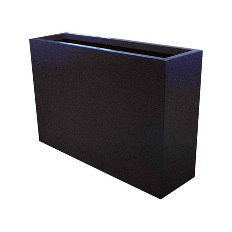 narrow fiberglass planter box products steel and