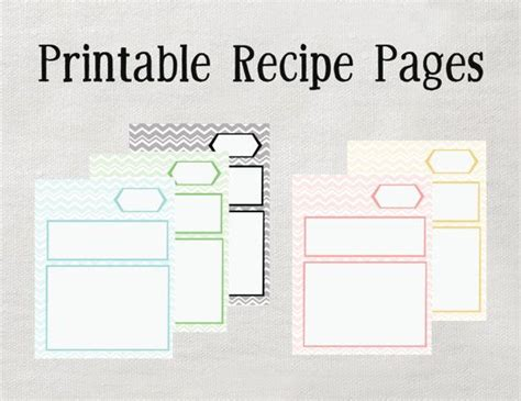 page recipe template for word 246 best scrapbook cookbook images on free printable free printables and moldings