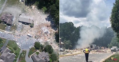 House Explosion by House Explosion In Lancaster Home Completely Obliterated Blue Lives Matter