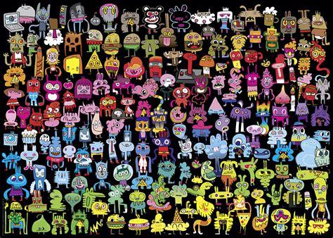 doodle puzzle doodle rainbow jigsaw puzzle puzzlewarehouse