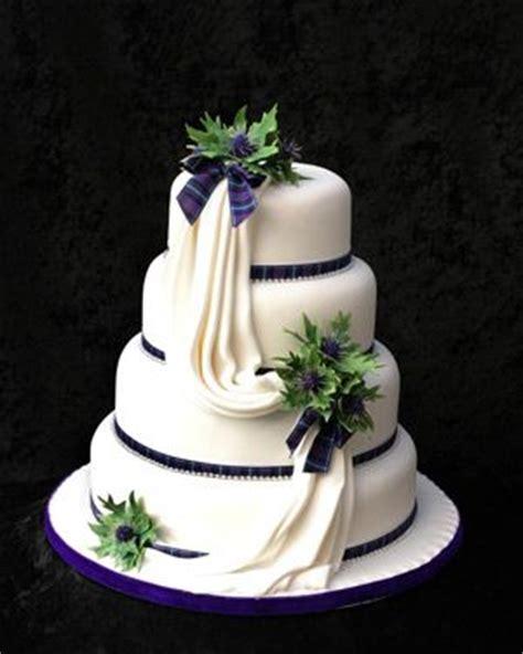 celebration cakes in scotland wedding cakes scotland scottish wedding cake idea thistle and draping with