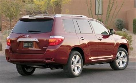 Toyota Highlander 2008 Price 2008 Toyota Highlander Prices Set Car News Car And Driver