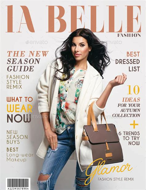magazine cover template 21 magazine cover templates free sle exle format