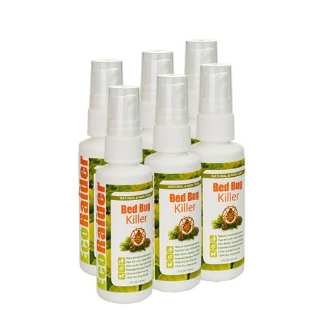 ecoraider bed bug spray bed bug killer by ecoraider 2oz