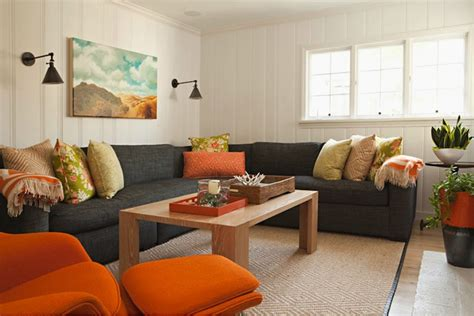 living rooms with gray couches gray linen sectional design ideas